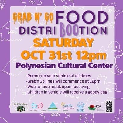 Grab n Go Food Distribution