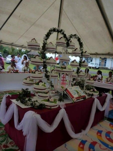 Tongan Wedding Cake