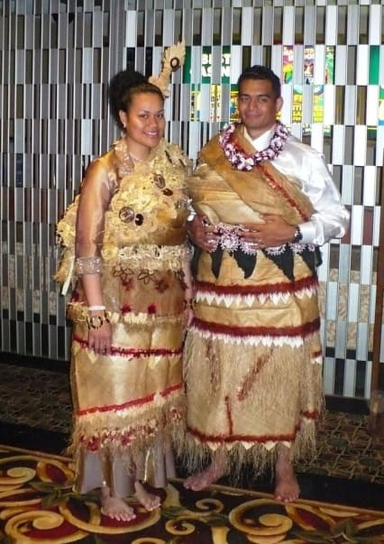 Tongan Couple