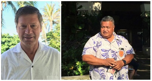 New staffing - article 1 Davis left Niumatalolo right