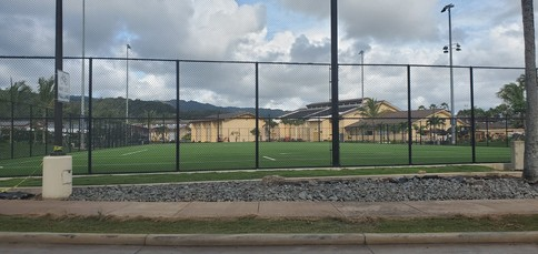 Soccer field by old gym 2
