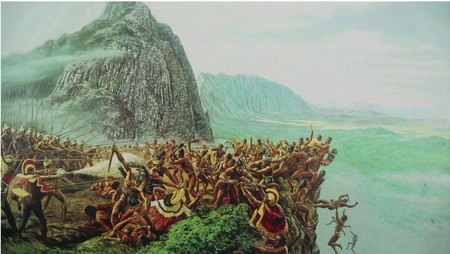 The Battle of Nuuanu Pali Lookout
