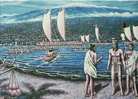 The death of King Kiwala'o