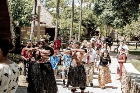 Anderson at Fiji