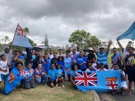 Fiji Olympics Celebration