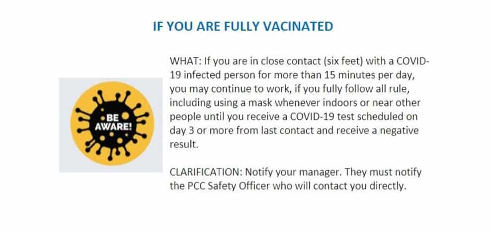 If you are fully vaccinated